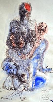 نقاشی محسن درخشان