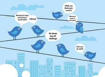 توئیتر در خدمت اطلاع رسانی برای گزارش هوا