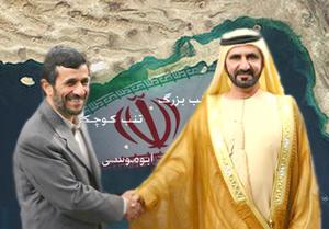 احمدی نژاد و امیر کویت