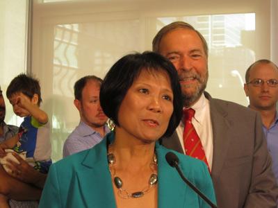 اولیویا چاو کاندیدای انتخابات فدرال شد