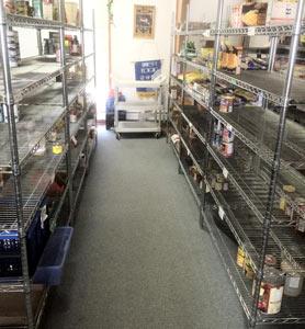کمبود بی سابقه مواد غذایی در بانک های غذای آلبرتا