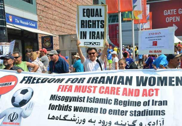 نامه کوشاگران ایرانی به رئیس فیفا در پیوند با ورود زنان به ورزشگاه