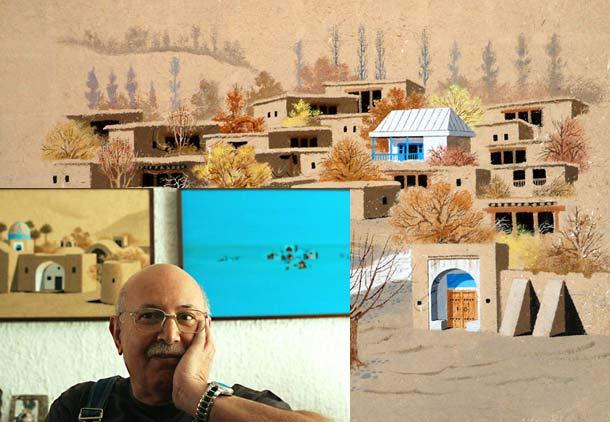 پرویز کلانتری، نقاش کویر، در بستر بیماری/حسن گل محمدی