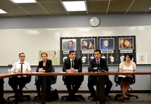 برگزاری روز جهانی زندانی سیاسی در تورنتو