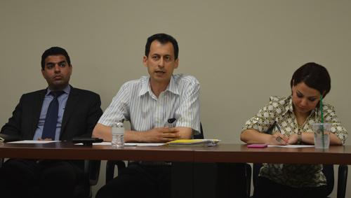ارسلان کهنمویی پور رئیس و سخنگوی کنگره ایرانیان کانادا گزارش دو ماهه فعالیت های کنگره را ارائه داد