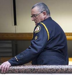 یک فرمانده پلیس در گیر در تظاهرات جی ۲۰ تورنتو، محکوم شد