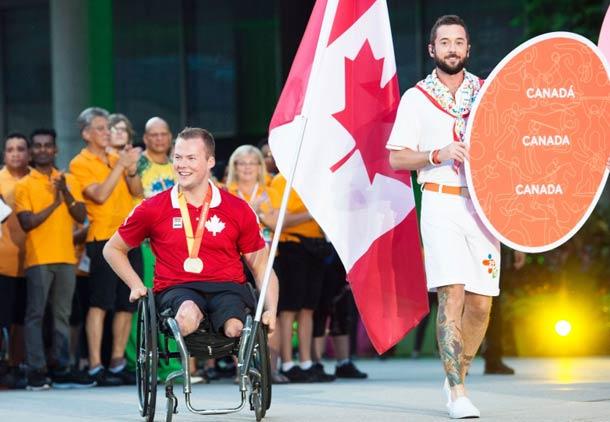 کانادا در جایگاه دوم بازی های پارا پان ام تورنتو