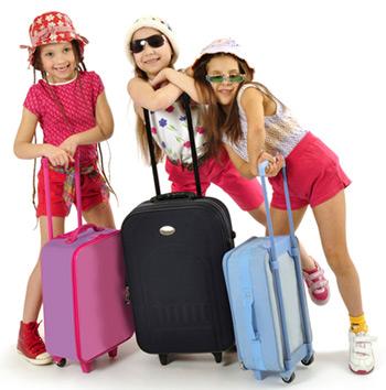 فرزندان در هنگام مسافرت/محمد رحیمیان