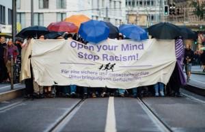 تظاهرات در حمایت از پناهنده ها در آلمان