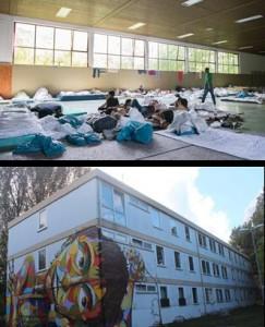 محل اسکان پناهنده ها در آلمان