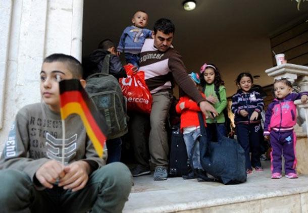 پناهندگان سوری در آلمان