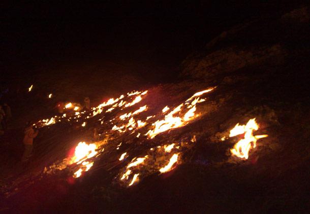 تَش کوه (گنبد لران) رامهرمز؛ سرزمین آتش جاودان/جعفر سپهری