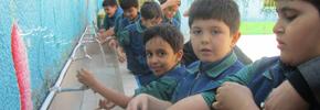 آب دستتونه بذارین زمین!/میرزا تقی خان
