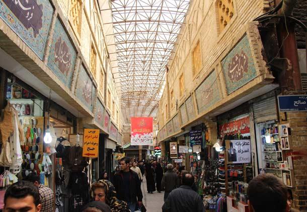 با من به بازار تجریش بیایید/حسن گل محمدی