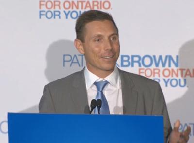 پاتریک براون، رهبر محافظه کاران انتاریو به مجلس راه یافت