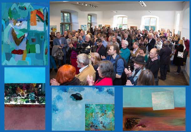 نمایشگاه آثار داوود سرفراز در گالری شهر دورتموند/جواد طالعی
