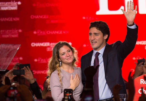 دوران هارپر با «پیروزی تاریخی» لیبرال ها به پایان رسید