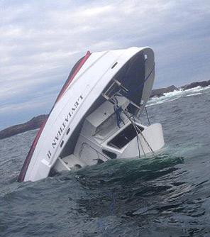 پنج کشته و یک مفقود در واژگونی قایق توریستی