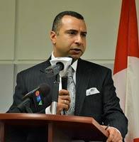 ماجد الشفیعی سخنران مراسم