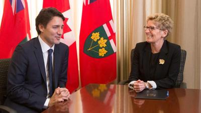 ملاقات و مذاکرات مهم کاتلین وین و جاستین ترودو در تورنتو