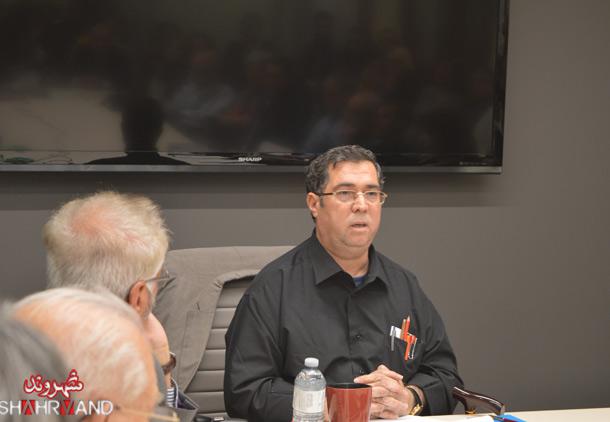 سخنرانی علی دهباشی در تورنتو /فرح طاهری
