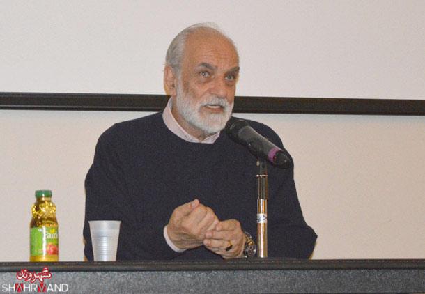 سخنرانی آیدین آغداشلو در دانشگاه تورنتو/ فرح طاهری