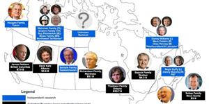 افزایش درآمد یک درصدی های کانادا