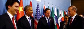 اولین سفر خارجی نخست وزیر کانادا و ملاقات با رهبران جهان در پاریس