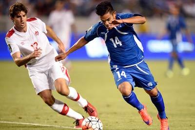 تساوی تیم فوتبال کانادا با ال سالوادور