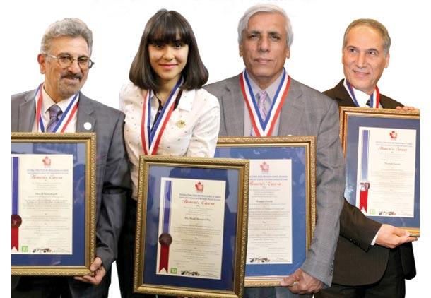 تقدیر از کوشاگران ایرانی در مراسم اهدای جوایز رسانه هاى قومى کانادا