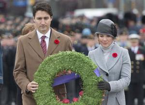 برگزاری یادبود سربازان جان باخته کانادایی در جنگ ها