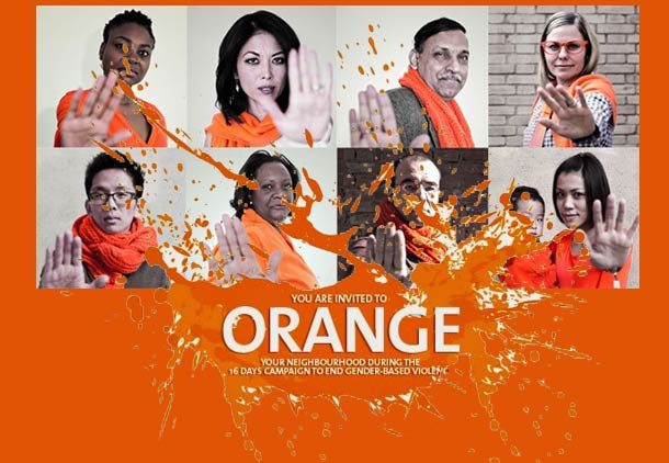 روز نارنجی: به خشونت بر زنان بگو نه!