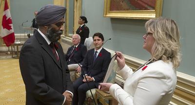 تعداد وزرای سیک در کابینه دولت کانادا از کابینه هند بیشتر است
