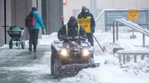 هزینه های برف روبی و نمک پاشی تورنتو اعلام شد