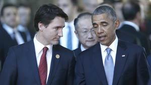 اولین مذاکره رسمی ترودو و اوباما در فیلیپین