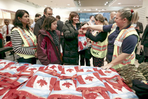 تحسین کانادا از سوی رسانه های عرب برای پذیرش پناهجویان سوری