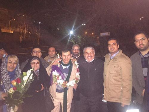 محمدحسین نعیمیپور آزاد شد