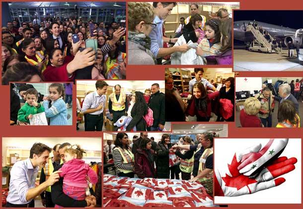 خوشامدگویی کانادا به پناهجویان سوری