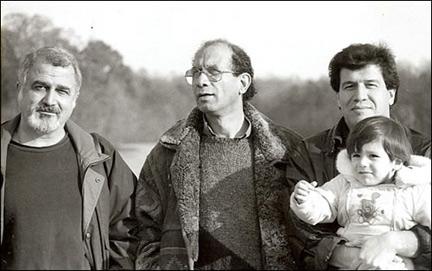 از راست: مسعود نقره کار، محمد مختاری، فرامرز سلیمانی