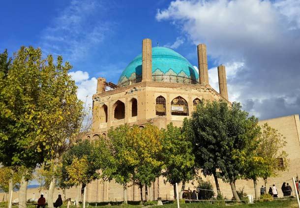 گنبد سلطانیه، شکارگاه شاهین/جعفر سپهری