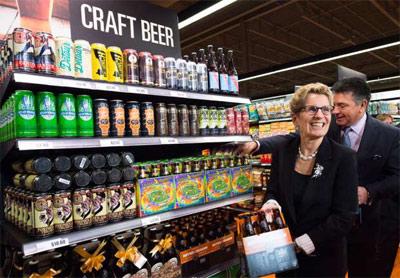 فروش آبجو در چند سوپرمارکت انتاریو شروع شد