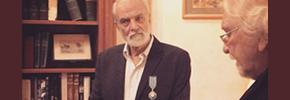 آیدین آغداشلو، نشان هنر و ادب شوالیه فرانسه را دریافت کرد