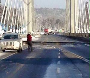 قطع ارتباط شرق و غرب کانادا با ترک برداشتن پل نیپیگون انتاریو