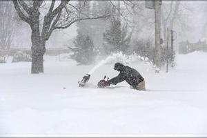 توفان برف در آمریکا پروازهای فرودگاه پیرسون را لغو کرد
