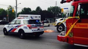 افزایش تلفات تصادفات رانندگی در تورنتو
