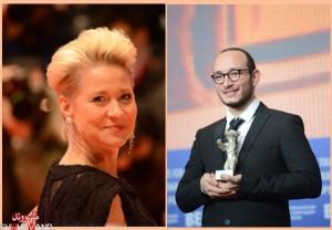 مجد مستوره (راست)بهترین بازیگر مرد برای فیلم هدی ـ ترینه دیرهولم بهترین بازیگر زن برای بازی در فیلم کمون