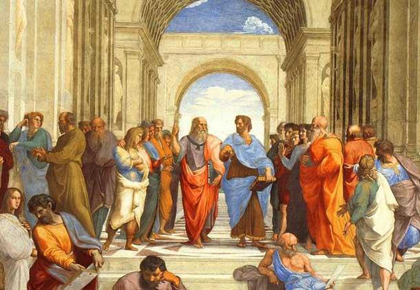مثلث فلاسفه: سقراط، افلاطون، ارسطو/حسن گل محمدی