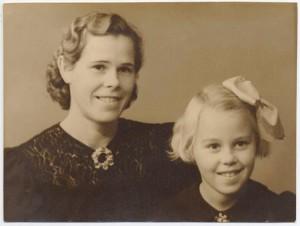 بورگهیلد و دخترش
