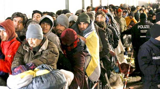 پناهندگان در جستجوی پناهی در آلمان