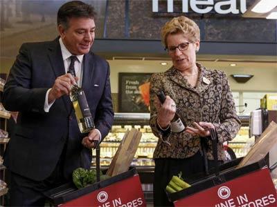 اعلام طرح تازه دولت انتاریو برای فروش شراب در فروشگاه ها